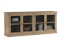 Sausalito Glass Door Stacking Unit Product Image