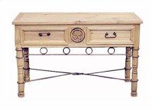 Star Sofa Table W/drawers