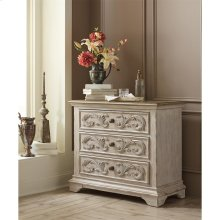 Elizabeth - Bachelor's Chest - Smokey White/antique Oak Finish