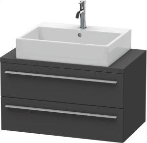 X-large Vanity Unit For Console Compact, Graphite Matt (decor)