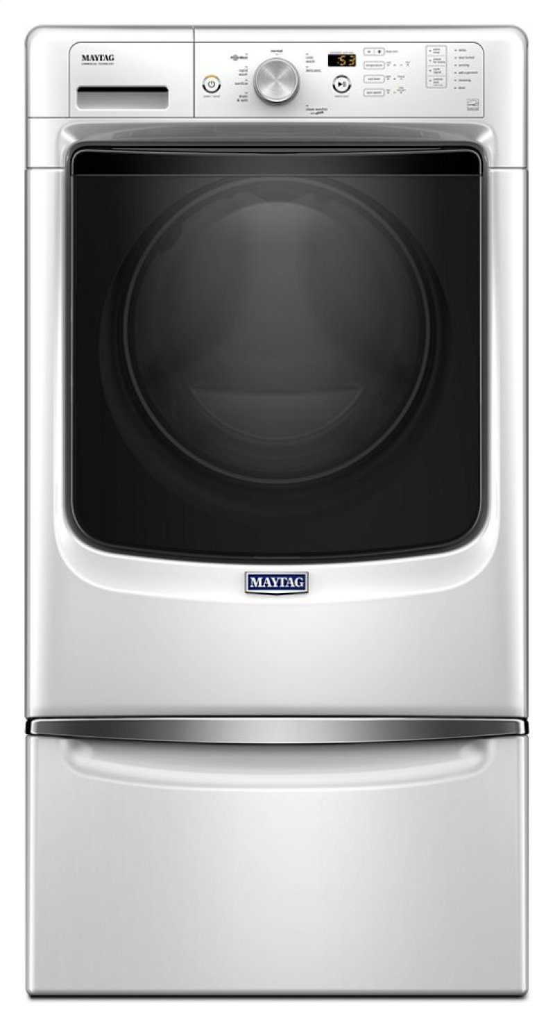Mhw3505fw By Maytag At Queen Appliance In Phoenixville Frazer And Together With Samsung Electric Clothes Dryer Additionally Hidden Additional Front Load Washer Steam For Stains Option Powerwash System 43 Cu