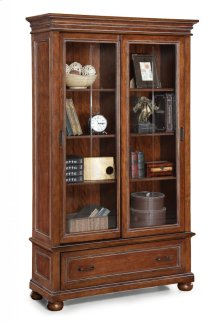 American Heritage Sliding Door Bookcase