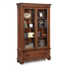 American Heritage Sliding Door Bookcase