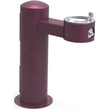 Elkay Outdoor Fountain Pedestal Non-Filtered, Non-Refrigerated Freeze Resistant Purple