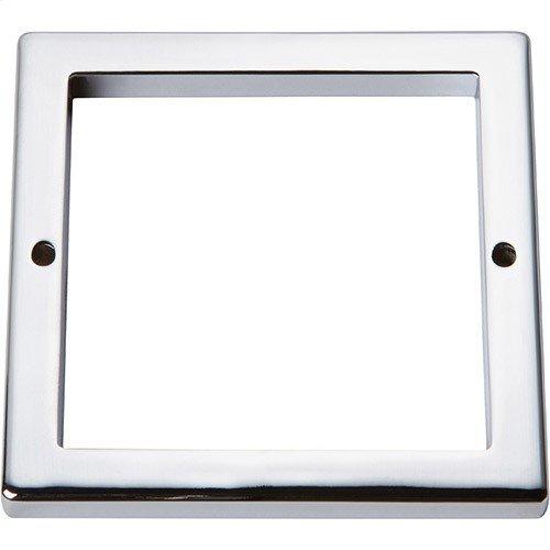Tableau Square Base 3 Inch - Polished Chrome