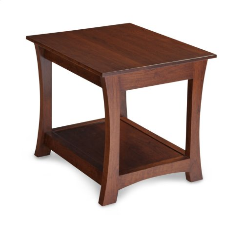 "Loft End Table, Loft End Table, 22""w"