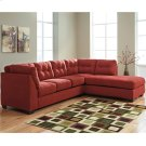 Benchcraft Maier Sectional with Right Side Facing Chaise in Sienna Microfiber [FBC-2349RFSEC-SEN-GG] Product Image