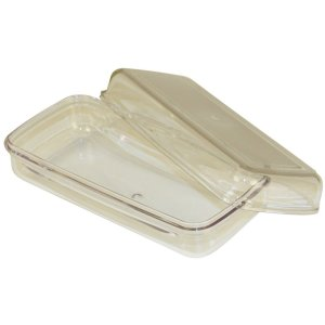 Plastic Butter Tray & Lid -