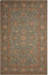 HERITAGE HALL HE15 AQU RECTANGLE RUG 7'9'' x 9'9''