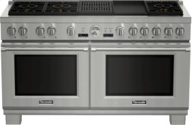 60 Inch Professional Series Pro Grand Commercial Depth Dual Fuel Range PRD606RCG
