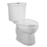 American StandardH2Option Dual Flush Right Height Round Front 1.0/1.6 gpf Toilet - White