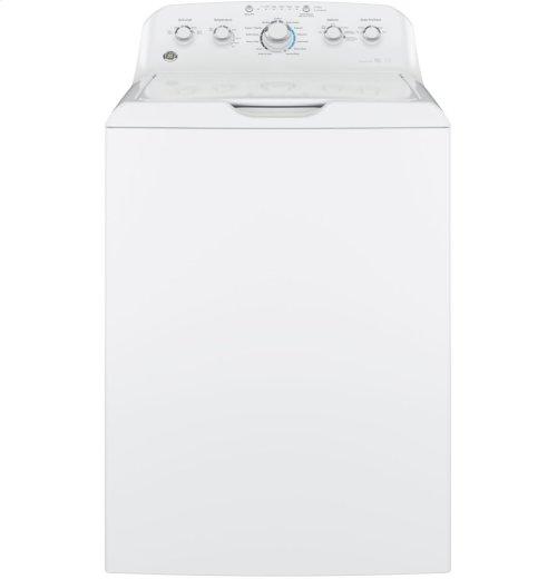 GE® ENERGY STAR® 4.4 DOE cu. ft. stainless steel capacity washer