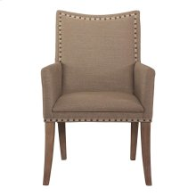 Midnight Caravan Upholstered Arm Chair