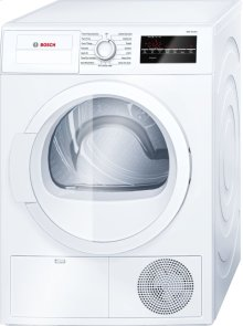 300 Series Cond. Dryer - 208/240V, Cap. 4.0 cu.ft., 15 Cyc.,67 dBA Galv.Drum, White/Door Non-Rev. ***FLOOR MODEL CLOSEOUT PRICING***