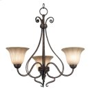Wallis - 3 Light Chandelier Product Image