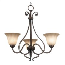Wallis - 3 Light Chandelier