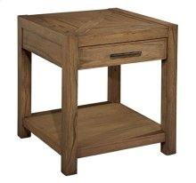 Weathered Transitions Square End Table