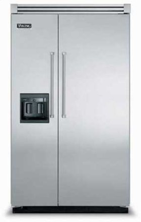 "48"" Side-by-Side Refrigerator/Freezer with Dispenser - VISB (Integrated Installation)"