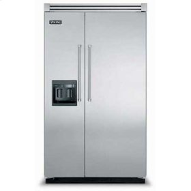 "48"" Side-by-Side Refrigerator/Freezer with Dispenser - VISB (Integrated Installation)"