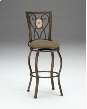 Brookside Oval Back Swivel Counter Stool