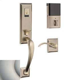 Satin Nickel with Lifetime Finish Evolved Cody 3/4 Lever Handleset
