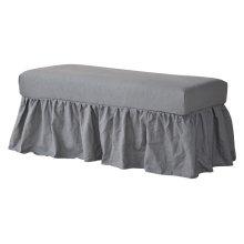 Long Bench Slip Cover