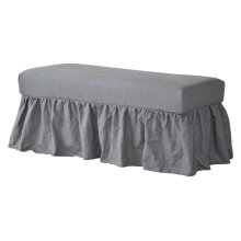 Long Bench Slip Cover
