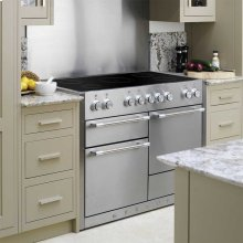 Gloss Black AGA Mercury Induction Range  AGA Ranges
