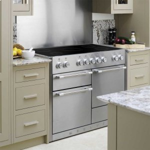 Stainless Steel AGA Mercury Induction Range  AGA Ranges - STAINLESS STEEL