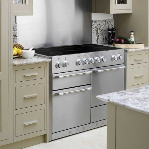 Matte Black AGA Mercury Induction Range  AGA Ranges
