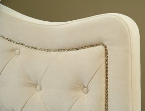 Trieste King Bed Buckwheat