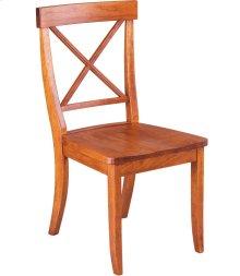 La Croix Side Chair - Wood Seat