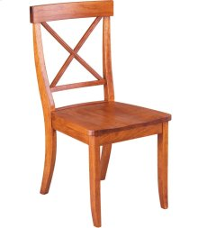 La Croix Side Chair - Wood Seat