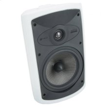 """White Indoor/Outdoor 2-Way Loudspeaker. 7"""" Carbon Woofer. OS7.5 - White"""