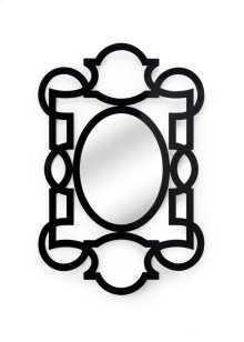 Tracery Mirror - Black