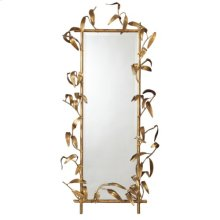 Bamboo Mirror-Antique Gold