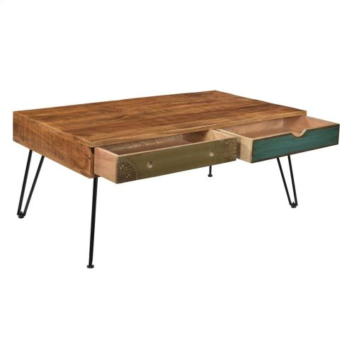 2 Drw Cocktail Table