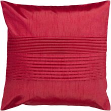 "Solid Pleated HH-025 18"" x 18"" Pillow Shell Only"