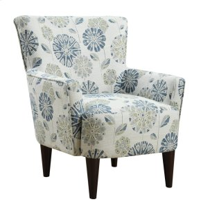 Emerald Home Flower Power Accent Chair Cascade Teal U3655-05-24