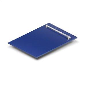 "Zline Kitchen18"" Dishwasher Panel in Blue Matte with Traditional Handle (DP-BM-18)"