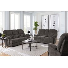 Manual Motion Ash Console Loveseat