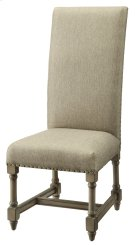 Baroque Linen Side Chair Product Image