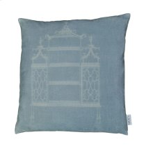 Temple Velvet Feather Cushion 25x25