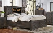 KING STORAGE BED & FOOTBOARD BENCH