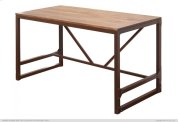 Writing Desk w/Wood Top & Iron Base Product Image