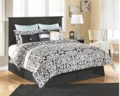 Maribel - Black 3 Piece Bed Set (King)
