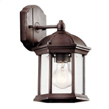 "Barrie 10.25"" 1 Light Wall Light with LED Bulb Tannery Bronze"