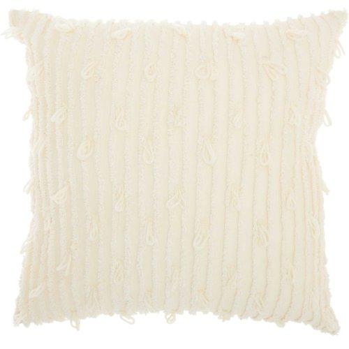 "Life Styles Ns804 Ivory 18"" X 18"" Throw Pillows"
