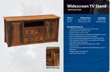 Widescreen TV Stand - Barnwood Style