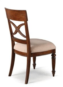 American Heritage Fabric Side Chair